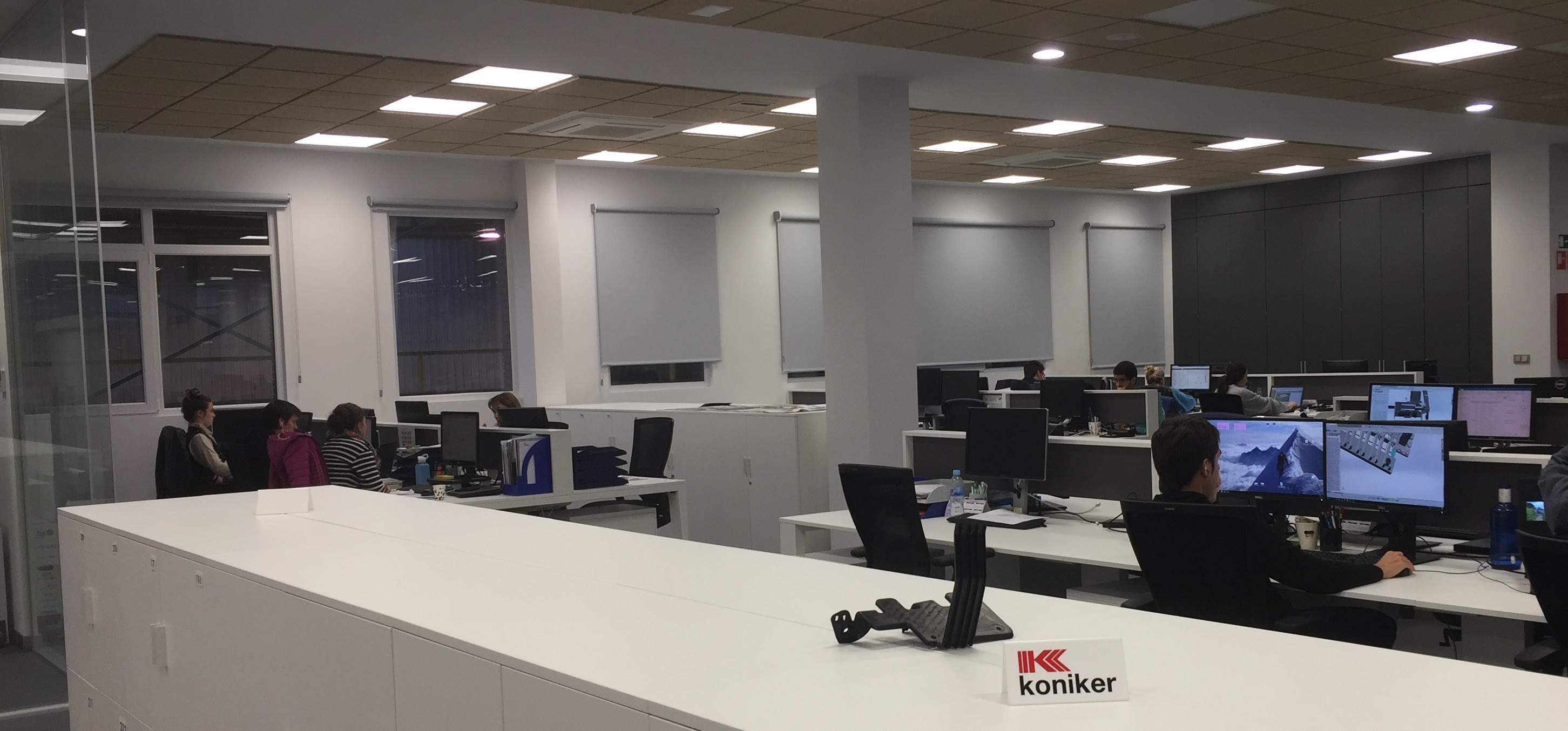 KONIKER facilities located in Arrasate (Gipuzkoa).