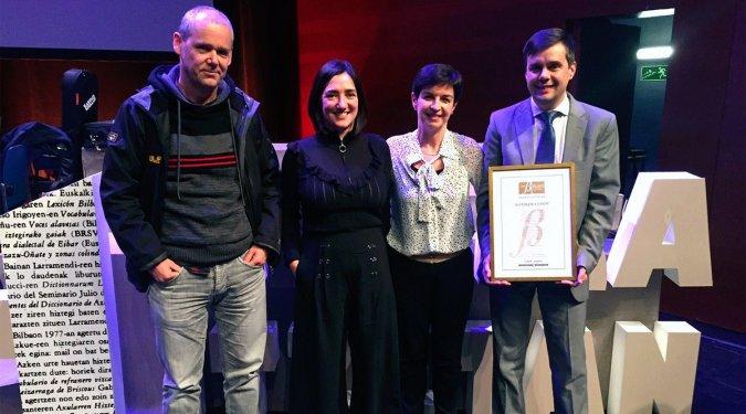 KONIKER logra el Certificado de oro Bikain por su compromiso con el euskara